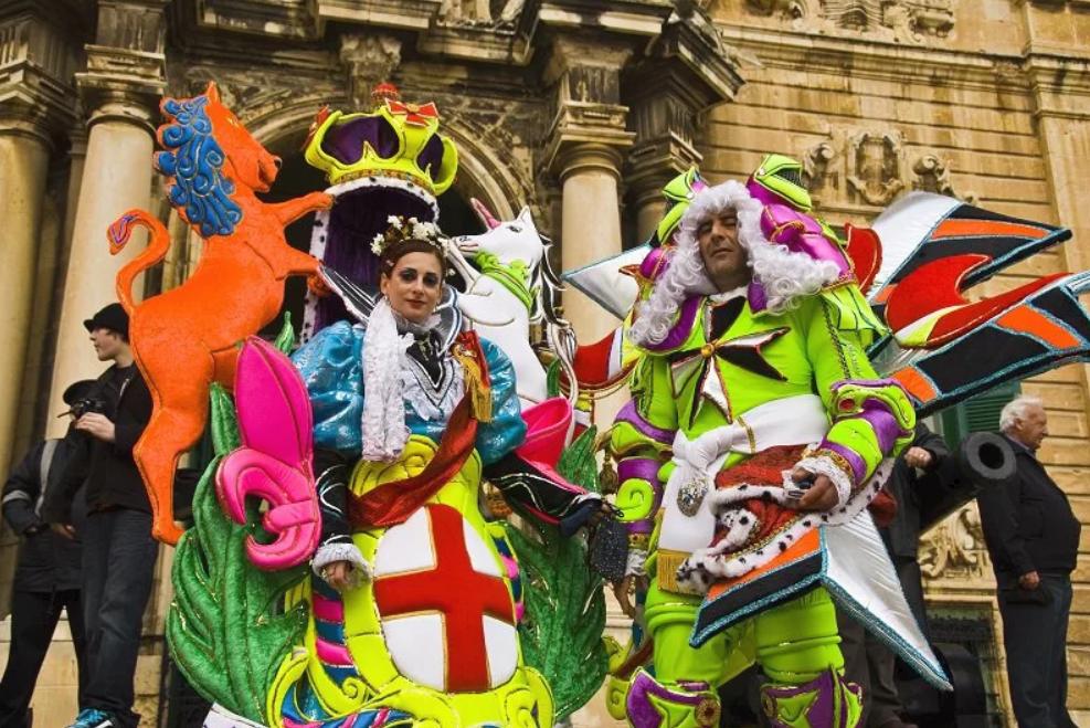 Традиционный карнавал вновь пройдет на Мальте и острове Гозо