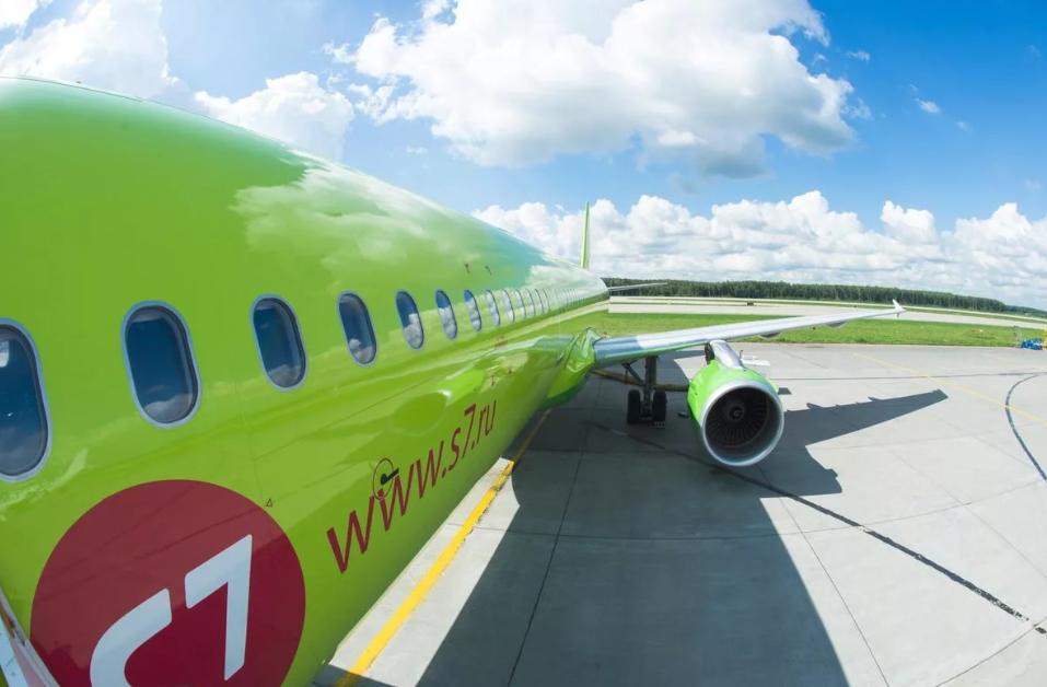 Вапреле S7 Airlines начнет выполнять полеты наКрит