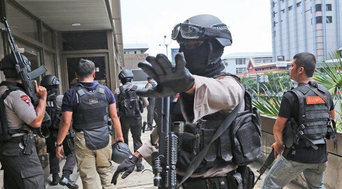 Теракт наФилиппинах. Есть жертвы.