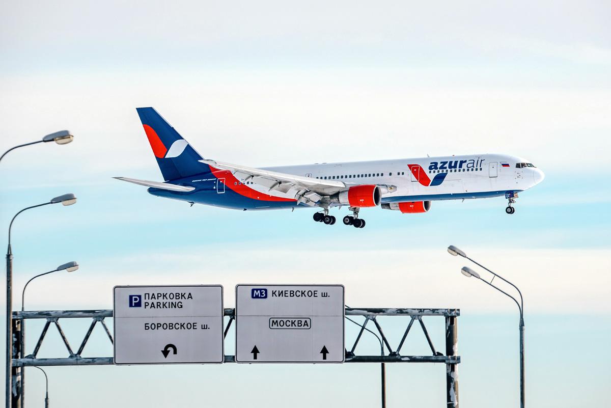 AZUR air полетит вТурцию из39 российских городов