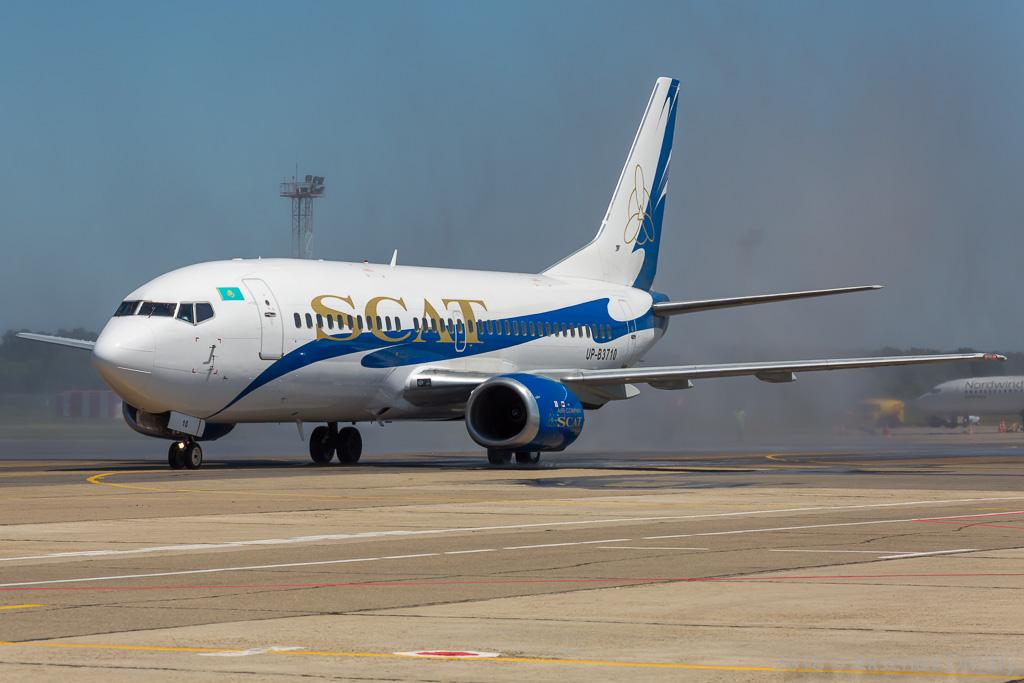 Самолет авиакомпании SCAT совершил экстренную посадку вКазахстане
