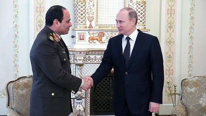 Египетский президент Абдель Фаттах аль-Сиси прибыл в Москву