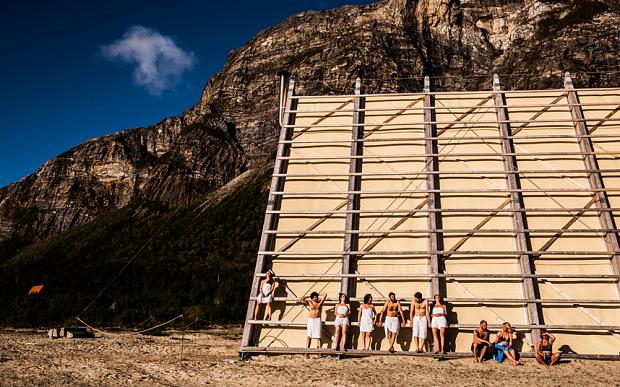 Самая большая сауна в мире открылась на севере Норвегии (фото)