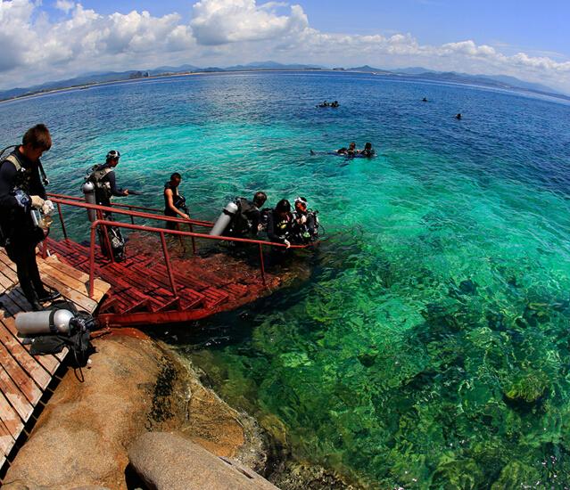 Дайвинг на острове Хайнань узаконили