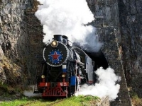 На рынок запустили паровозные туры по Кругобайкальской ж/д
