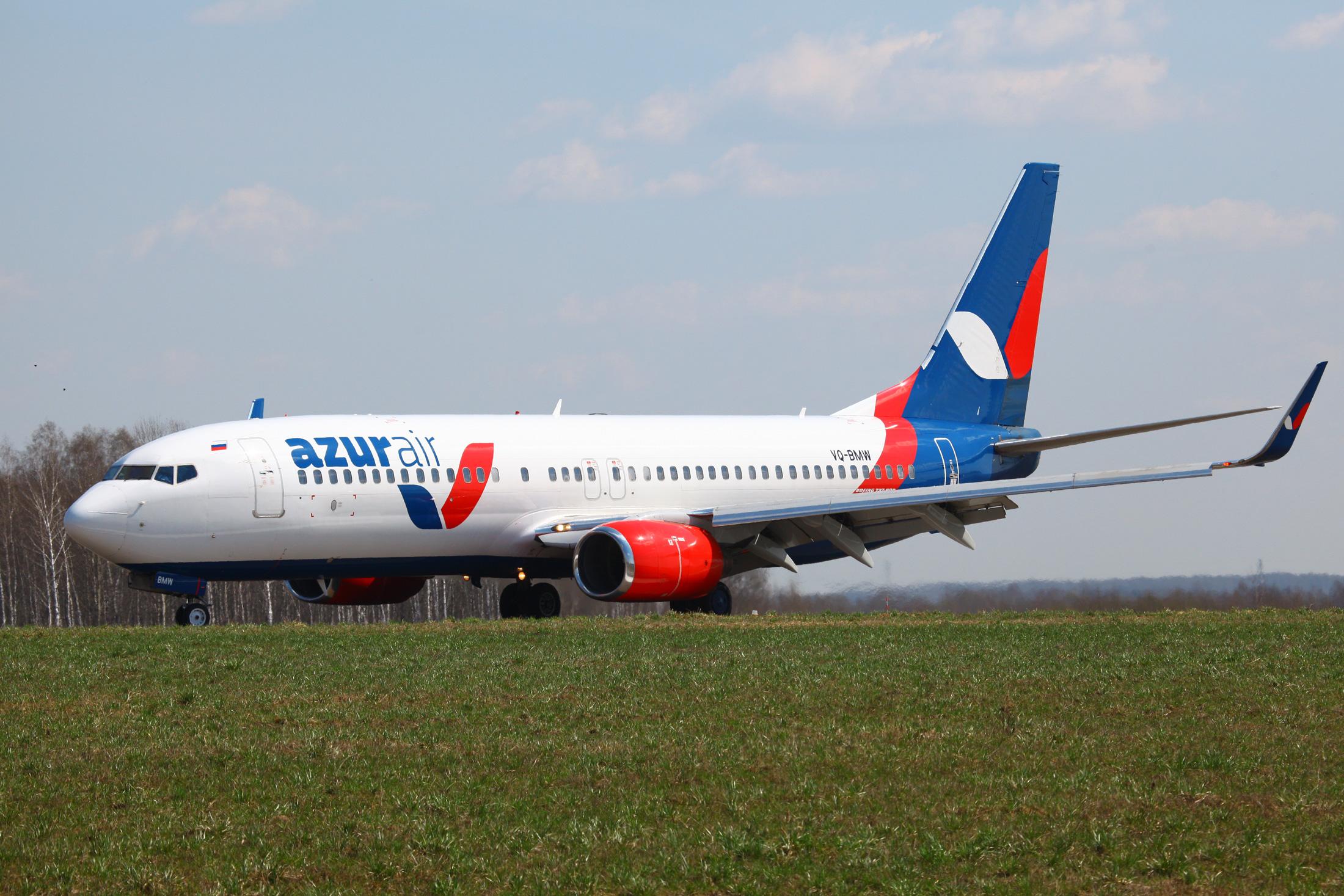 AZUR air выполнила первый вистории чартерный рейс изУльяновска
