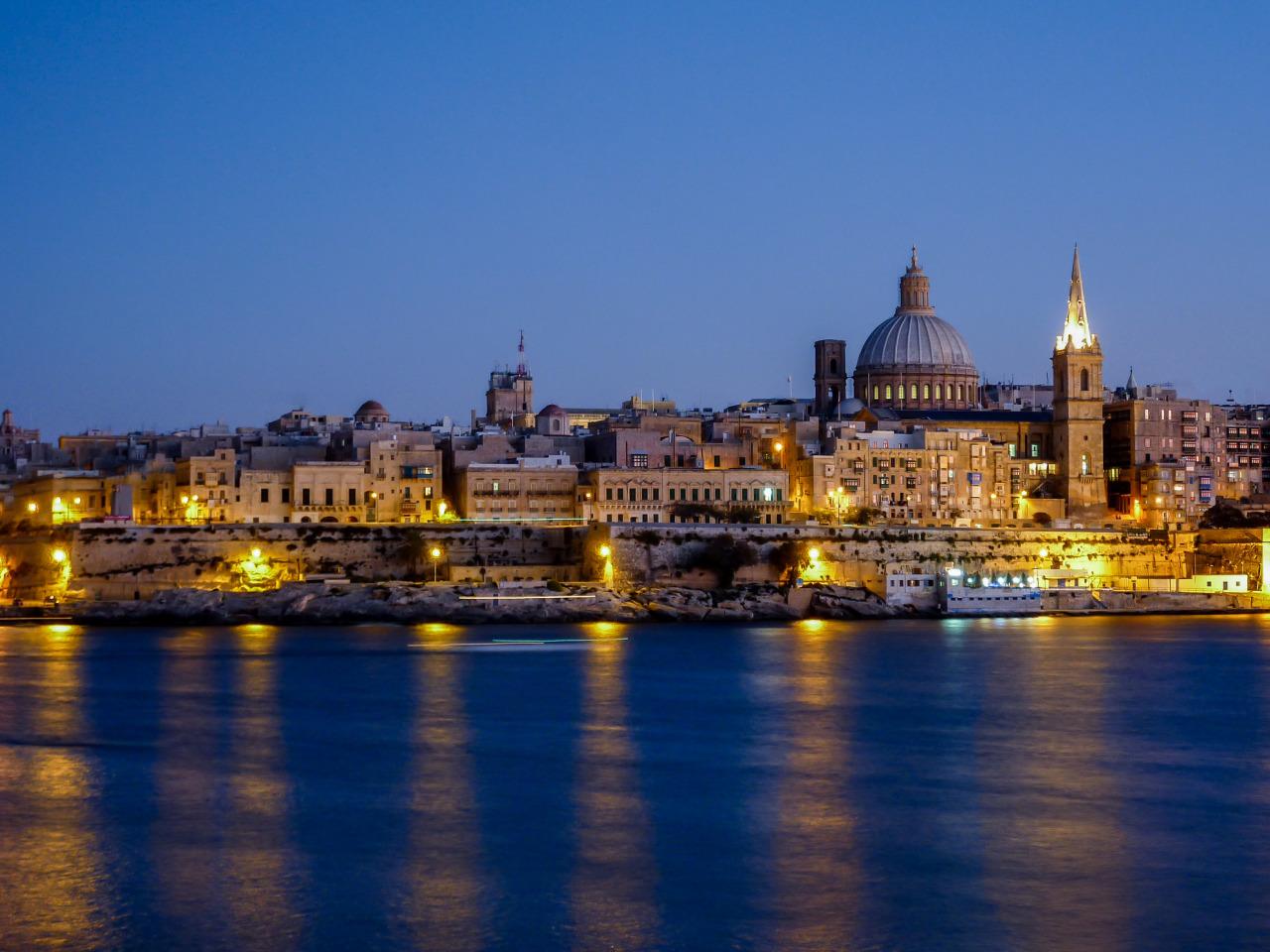 Въездной турпорток наМальту изРоссии увеличился на34% впервом квартале 2019 года