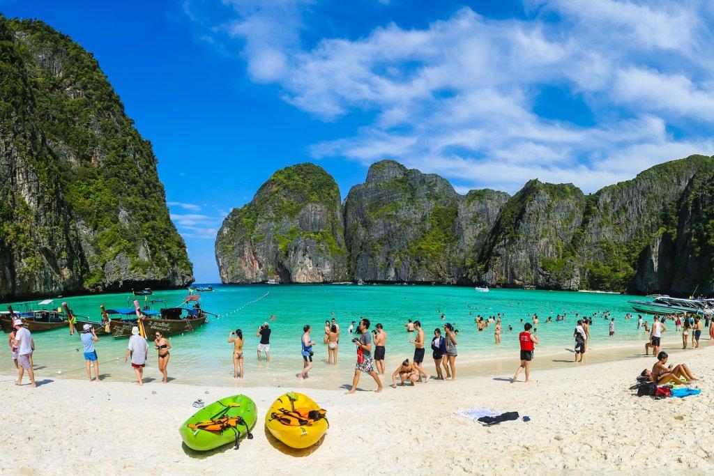 Знаменитый пляж наПхи-Пхи откроют с1 ноября