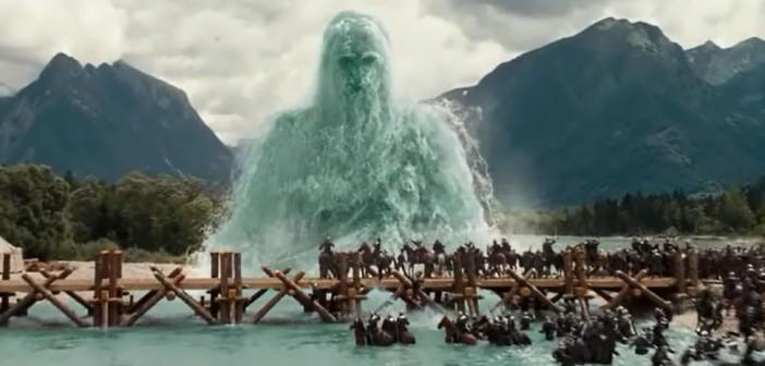 Кадр из фильма Хроники Нарнии, снятый на реке Соча