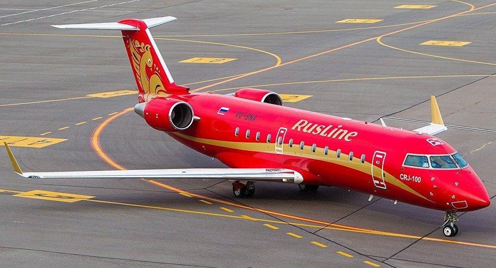 Авиакомпания «Руслайн» открыла продажи нарейсы вКрым по5 направлениям