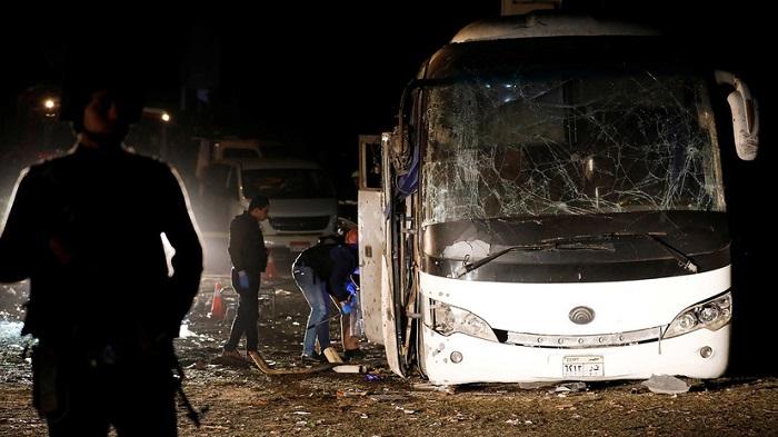 ВЕгипте взорван автобус стуристами, есть погибшие