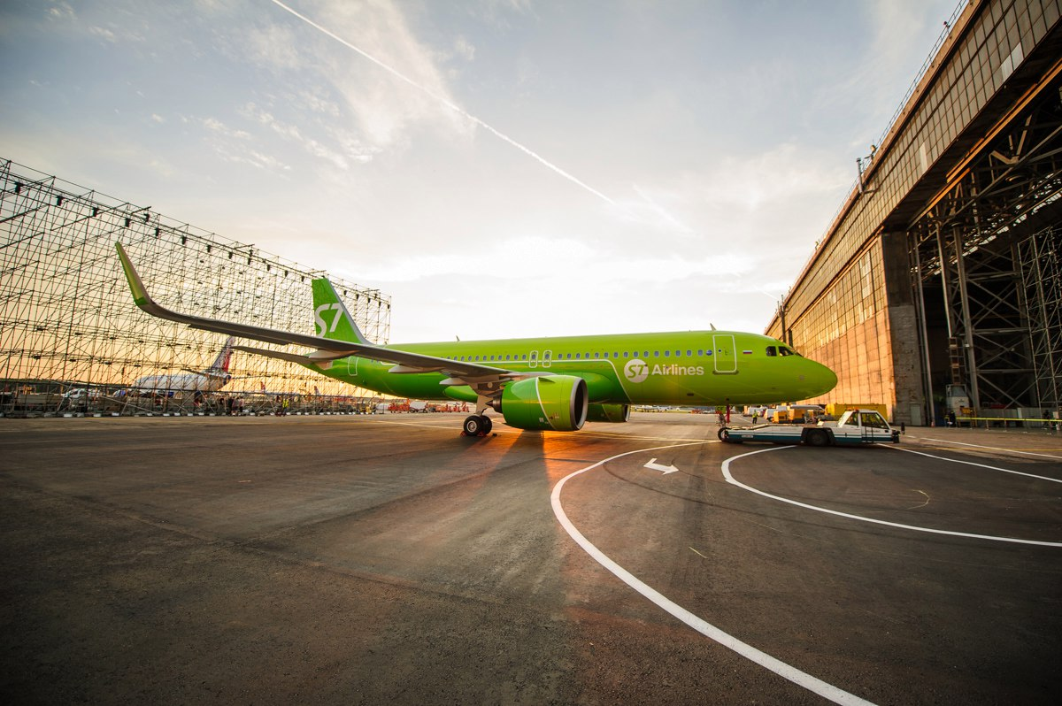 Авиакомпания S7 Airlines весной запустит рейсы Санкт-Петербург-Барселона