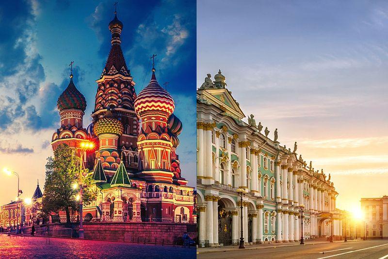 Эксперты выяснили, какие достопримечательности Москвы иСанкт-Петербурга ненравятся туристам
