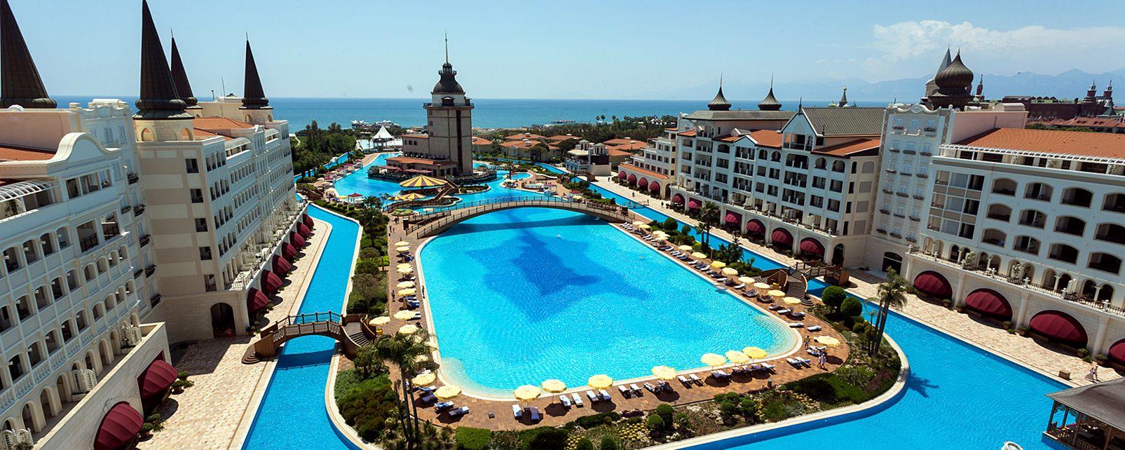 Отель Mardan Palace вАнталье вновь будет принимать туристов