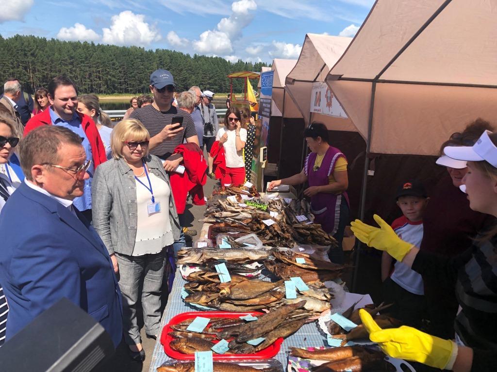 В«Ярославском взморье» прошел День рыбака