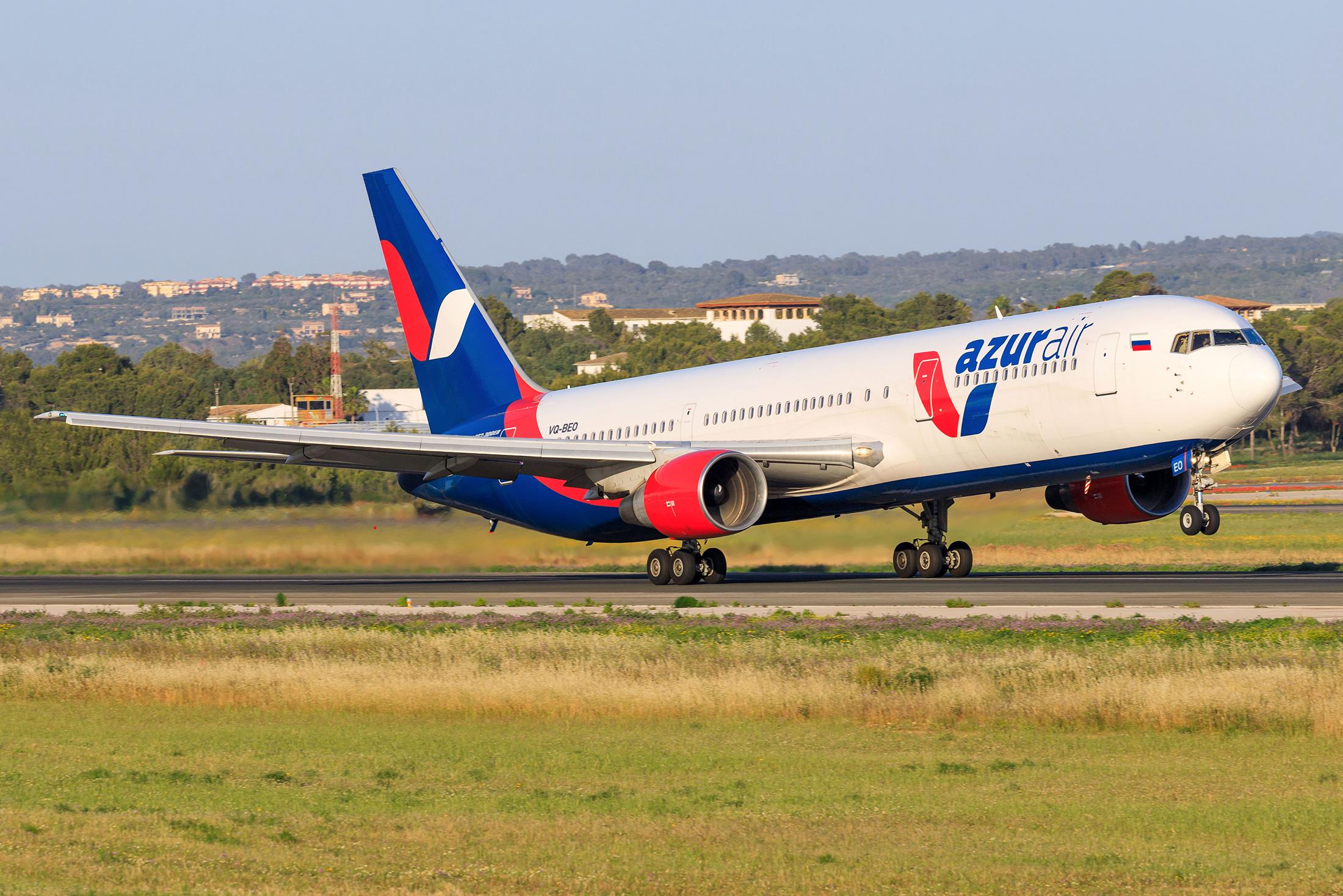 AZUR air получила одиннадцатый Boeing 767–300 всвоём парке